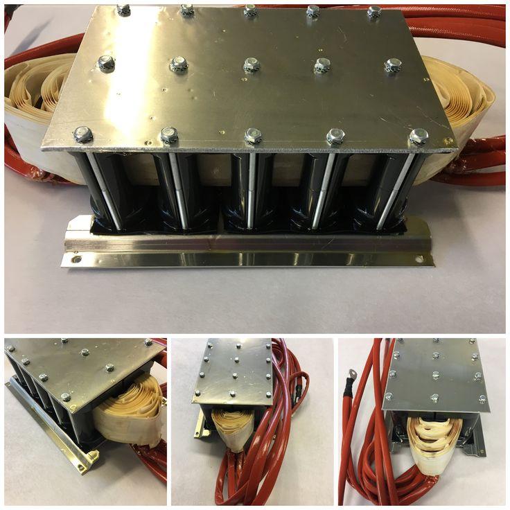 Power transformer for welding