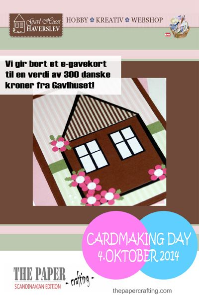 CARDMAKING DAY 4. OKTOBER: VI GIR BORT GAVEKORT! | The Paper Crafting