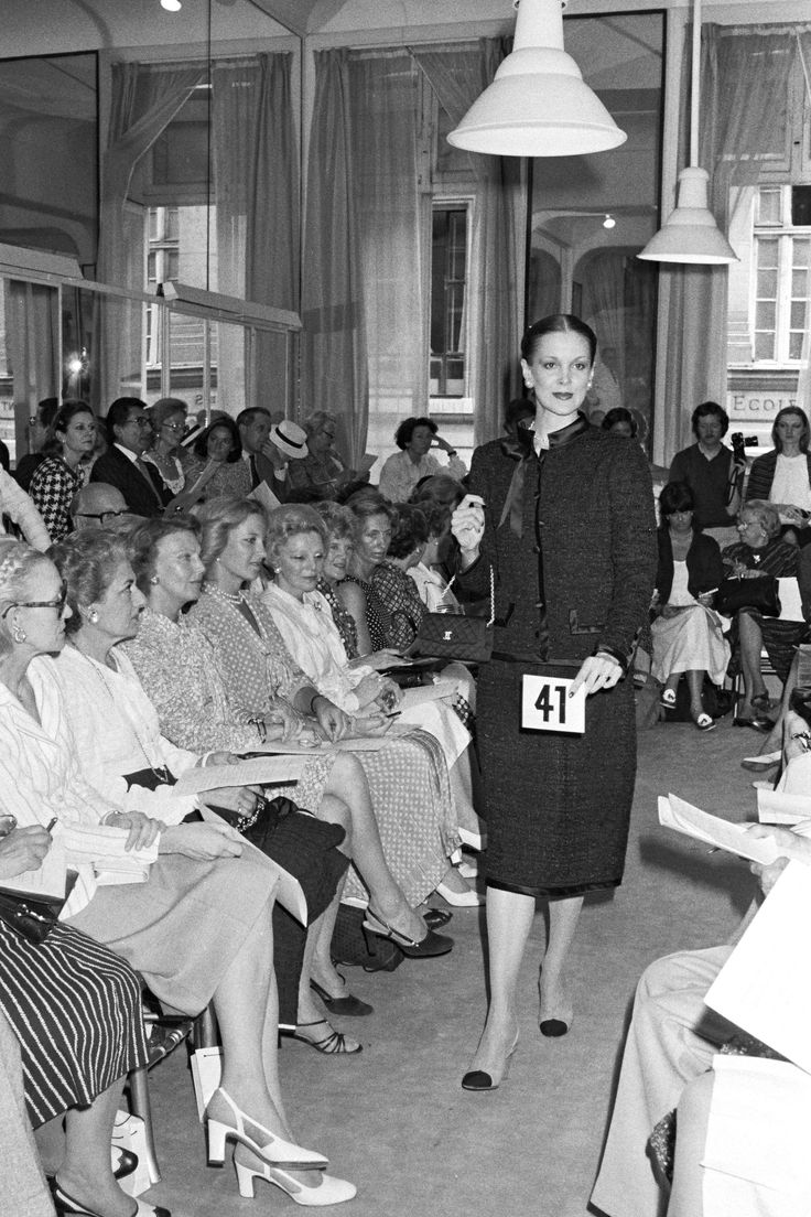 History of chanel fashion 86