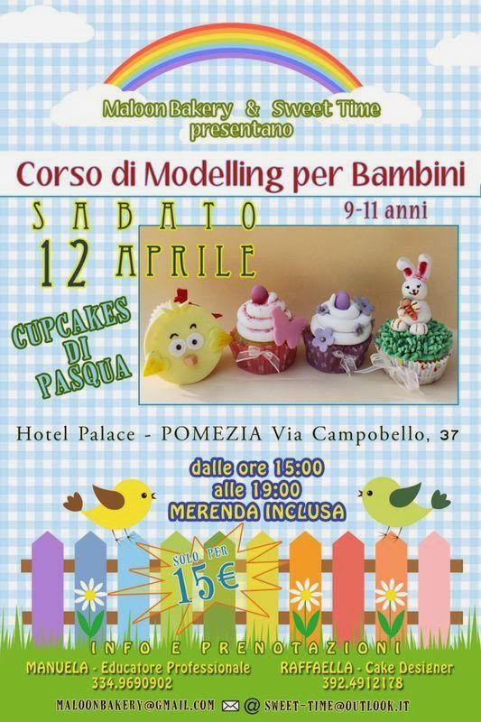 Sweet Time: Corso Cupcakes di Pasqua per bambini