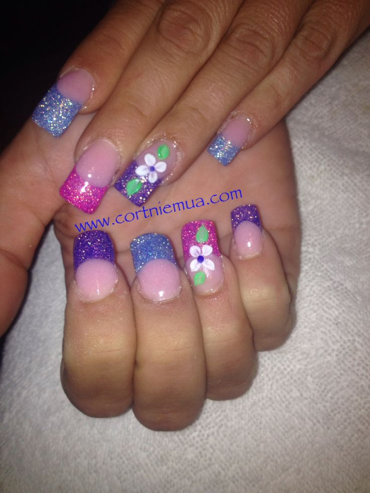 17 Best Images About Easter Acrylic Nails On Pinterest