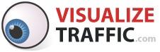 Averigua cuántas visitas recibe cualquier sitio en la web. www.visualizetraffic.com