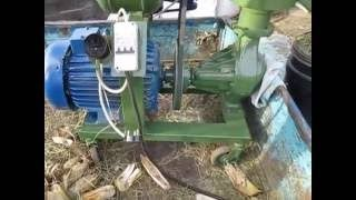 Mini karma dla zwierząt linia granulacji 7. 5 kW 001
