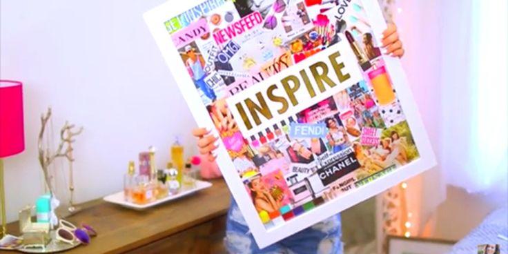 53 mejores im genes sobre inspiraci n para chicas en for Ideas faciles para decorar una habitacion