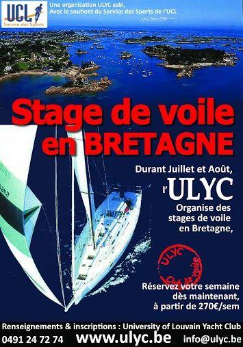 Stage de voile en Bretagne. Publié le 18/06/13. Nautique.