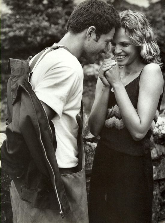 """Never Alone"", by Bruce Weber for Vogue Italia, September 1997"