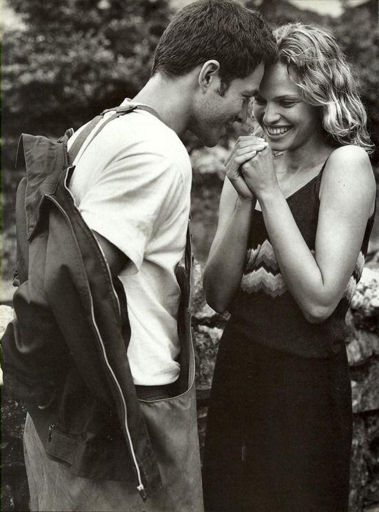"""Never Alone"", by Bruce Weber for Vogue Italia, September 1997"