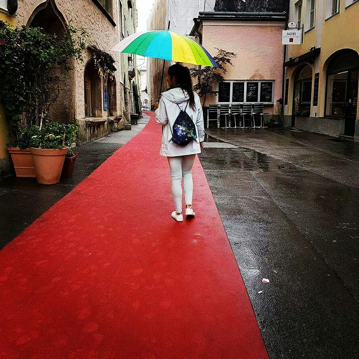 On the red carpet in Salzburg. #rekaboobag