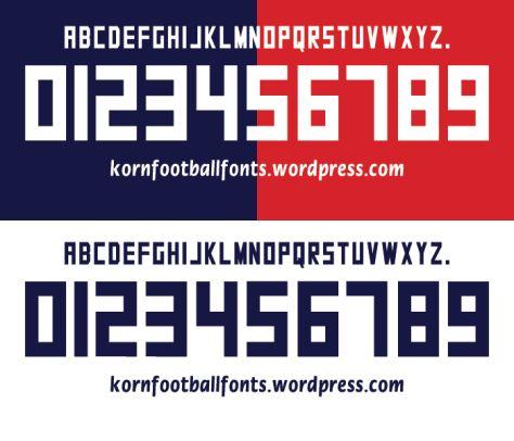 Kappa Font Style 2013/15