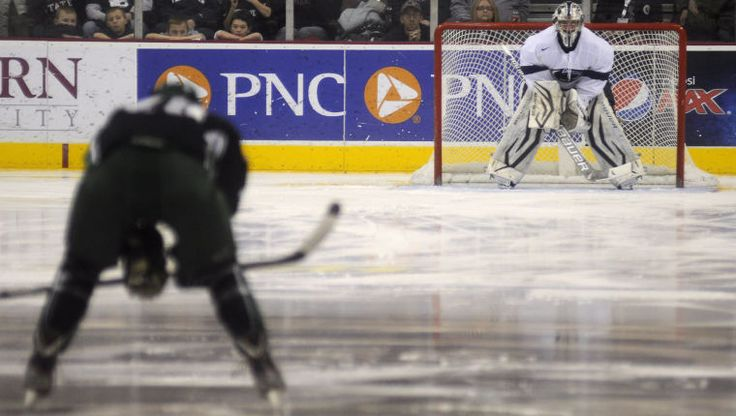 Guy Gadowsky wants No. 1 goalie to emerge - The Daily Collegian: Men's Ice Hockey