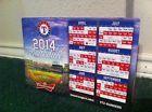 For Sale: NEW 2014 Texas Rangers Magnetic Season Schedule MLB Baseball SGA Opening Day http://sprtz.us/RangersEBay