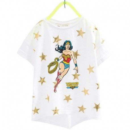 Zara Wonder Woman póló.  Zara Wonder Woman T-Shirt.  www.ckf.hu  #ckf #coolkids #kidsfashion #kidsclothes #gyerekruha #zara #zarakids #wonderwoman
