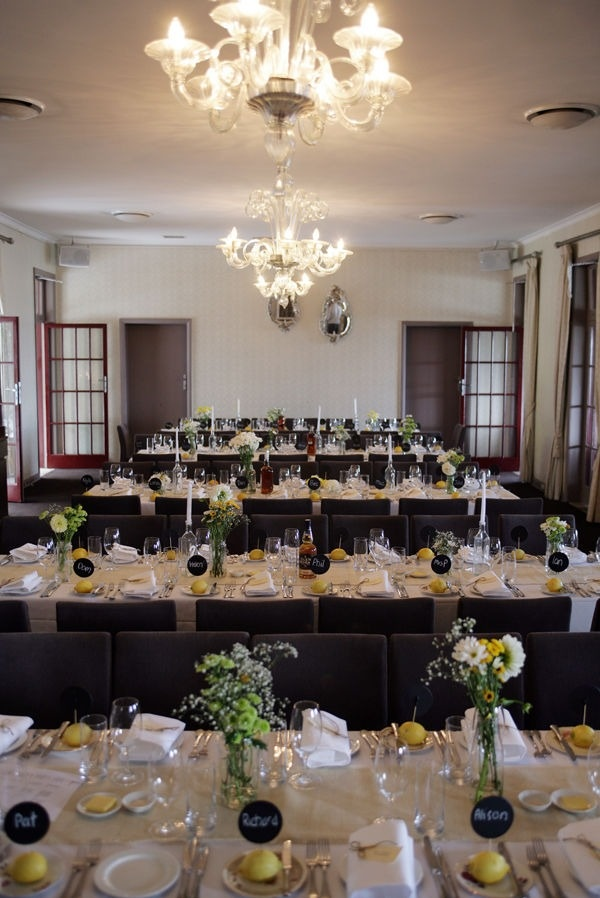 218 best Wedding stuff images on Pinterest Wedding inspiration - wedding reception setup with rectangular tables