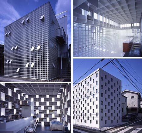 Box Buildings by Japanese achitecture firm Atelier Tekuto