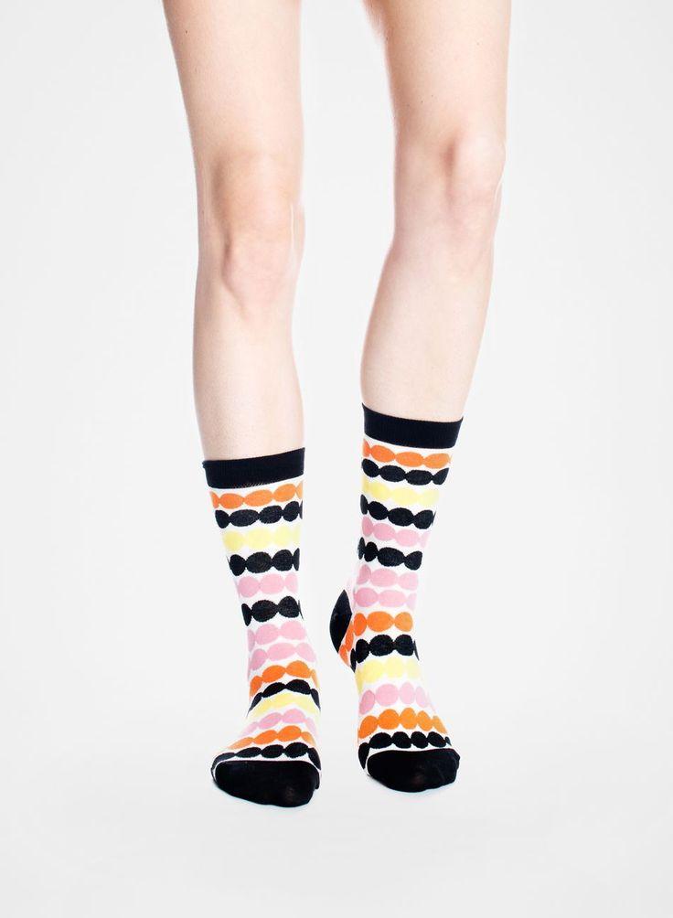 Matta socks (white, yellow, red) |Accessories, Socks & Stockings, Bags & Accessories | Marimekko