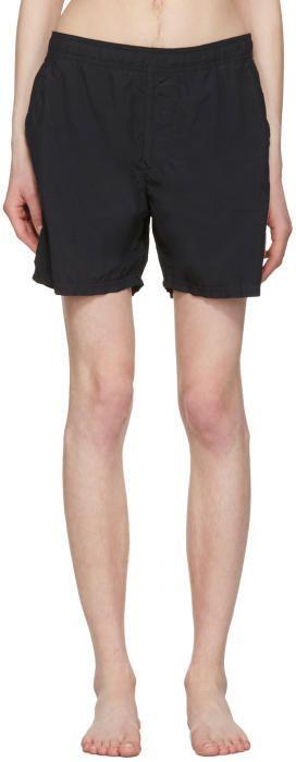 Stone Island Black Pocket Swim Shorts