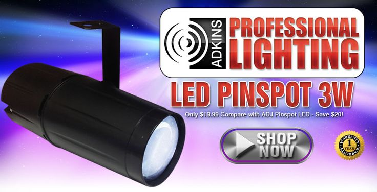 LED Pinspot 3W