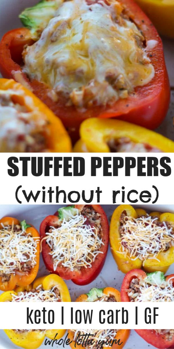 Keto Stuffed Bell Peppers In 2020 Carb Free Recipes Healthy Low Carb Recipes Healthy Low Carb Dinners