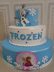 Resultado de imagem para bolos frozen fever