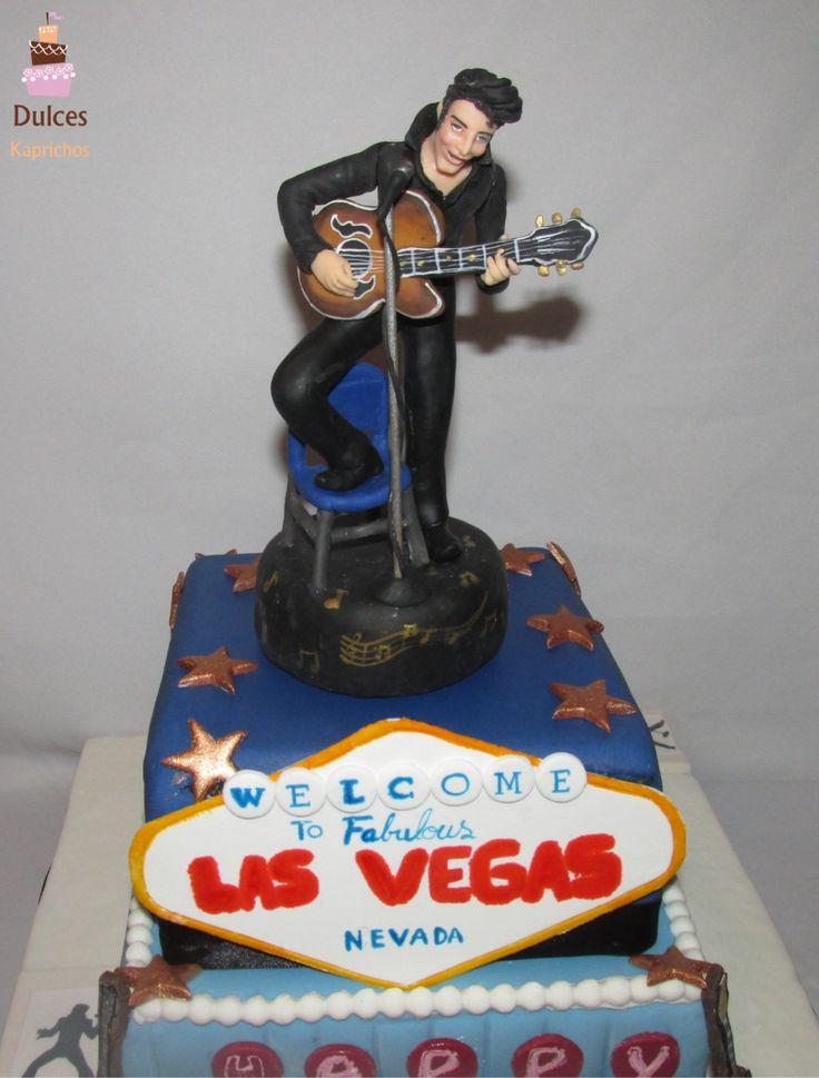 Torta Elvis Presley #TortaElvis #TortaElvisPresley #TortasDecoradas