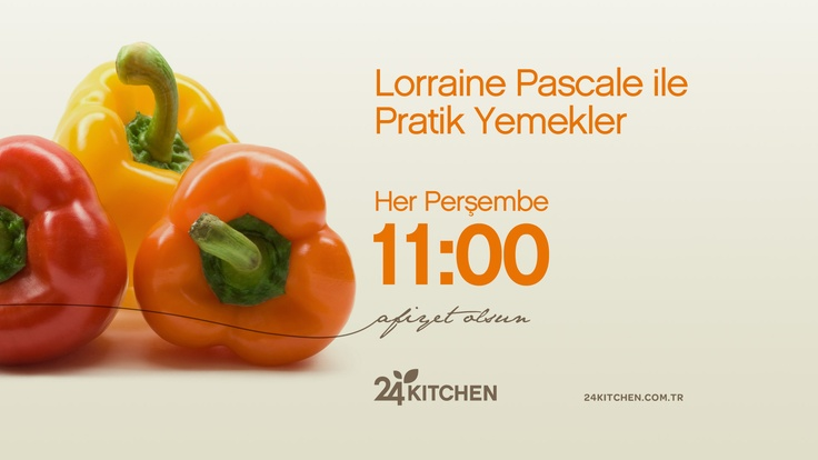 Lorraine Pascale, haftanın sonuna doğru gerilen ve yorulan vücudumuzu rahatlatacak yemekler pişiriyor bugün... http://www.24kitchen.com.tr/lorraine-pascale-ile-pratik-yemekler