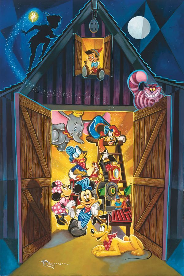 """Where Imagination Lives"" by Tim Rogerson 