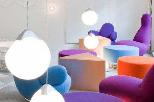 Skype Stockholm colorful office