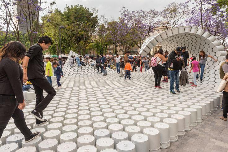 """""""One Bucket at a Time"""", Av. Hidalgo, Ciudad de México, CDMX, Mexico / Factor Eficiencia + 5468796 Architecture"""