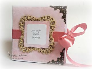 kartka księga - chrzest / card for baptism