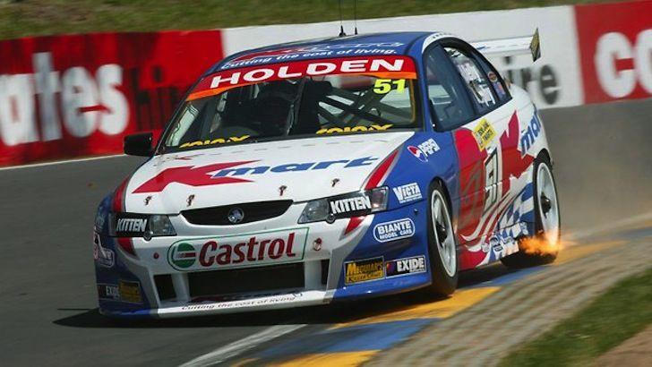 Greg Murphy 2003 Bathurst 1000 Lap of the Gods Holden Commodore   http://www.crankandpiston.com/on-the-track/2003-bathurst-1000-greg-murphy-the-lap-of-the-gods/