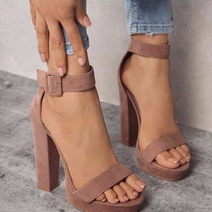 Nude heels | platform heels | holiday shoes | suede heels
