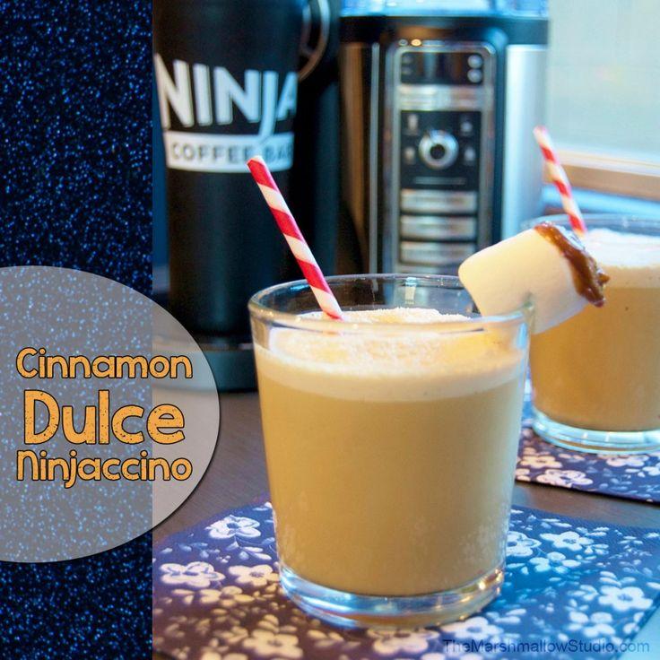 Cinnamon Dulce Ninjaccino recipe & NInja Coffee Bar review!