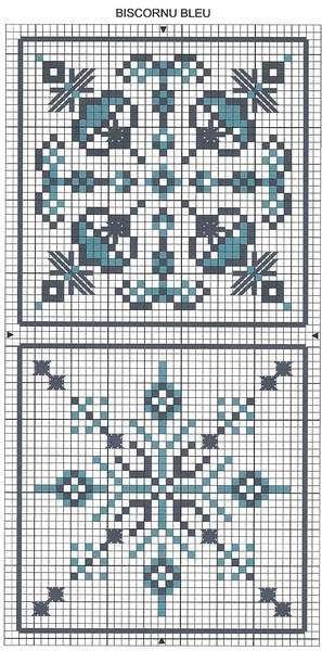 Biscornu n°14 - Stitches' Crumble