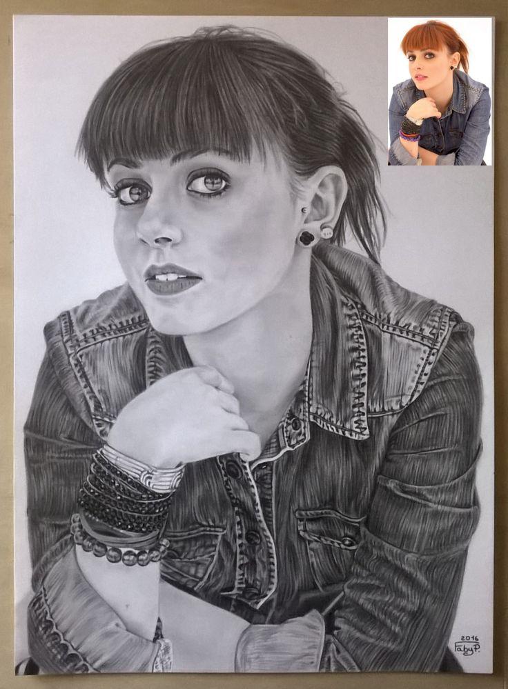 Annalisa Scarrone matita su cartoncino liscio 24x33