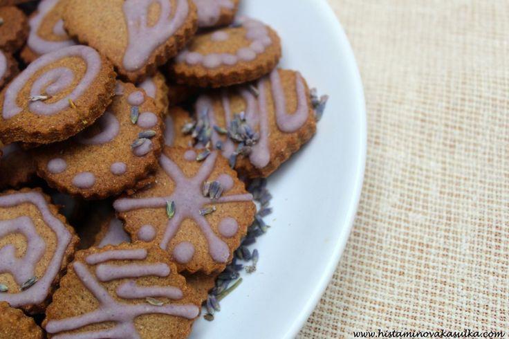 Levandulové sušenky pro chvíle pohody