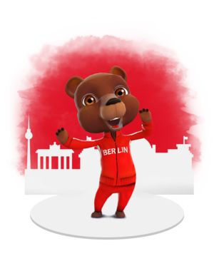 News are changing, thanks to BZ Berlin and Zoobe: get your dose of daily updates delivered to you by Emil, the very first animated reporter for #Berlin! #Zoobe #bear #news #journalist #press
