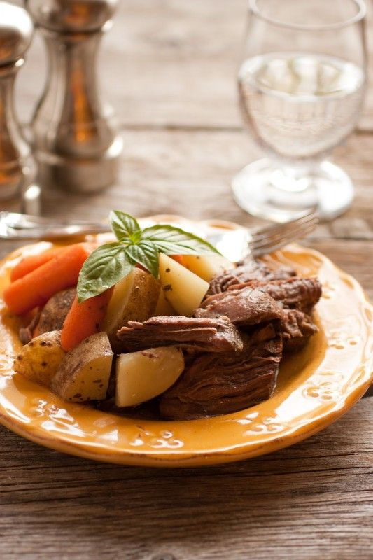 Slow Cooker Pot Roast with Potatoes (A One Pot Hassle Free Meal)