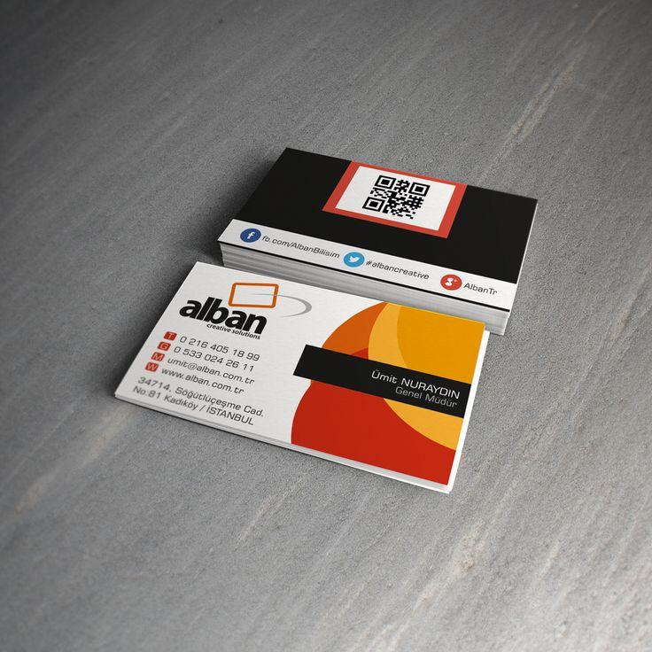 Alban.com.tr Business Card| Ugur DOGAN | front-end developer