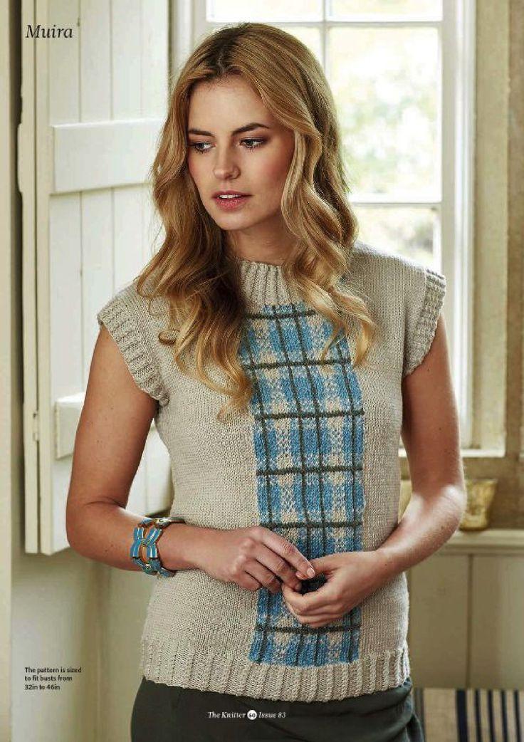 1603 Best Knitting Blousespulloversjackets Images On Pinterest