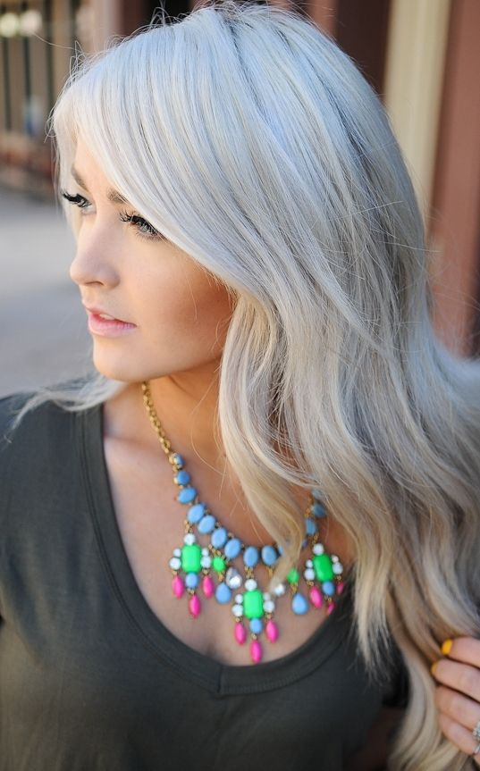 103 best Grey Hair images on Pinterest | Silver hair, Hairstyles ...