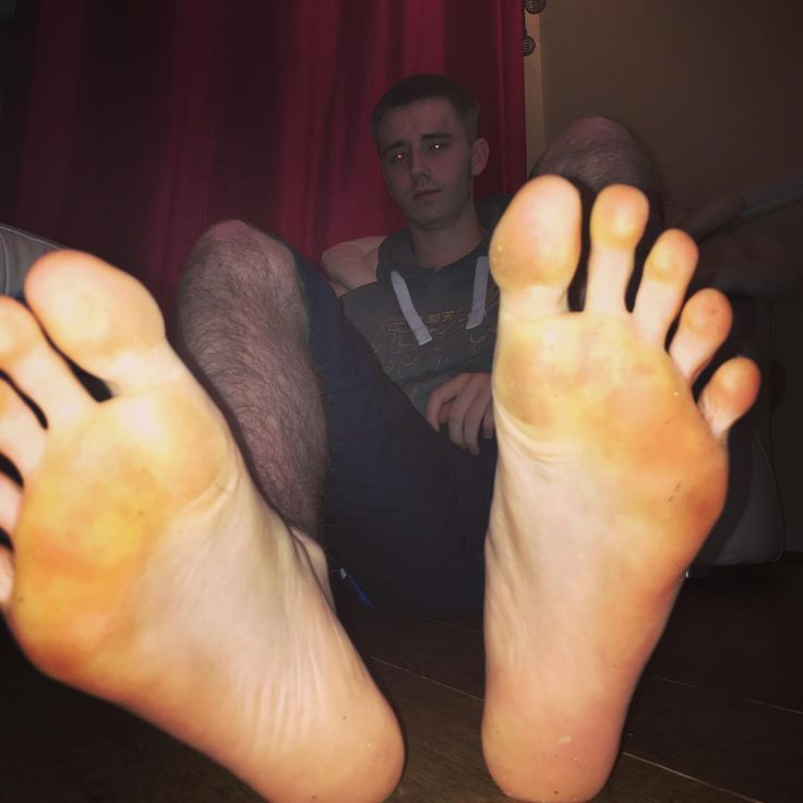 from Carter young gay feet