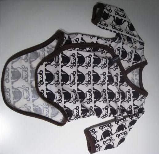 Wrap around onesie pattern and tutorial