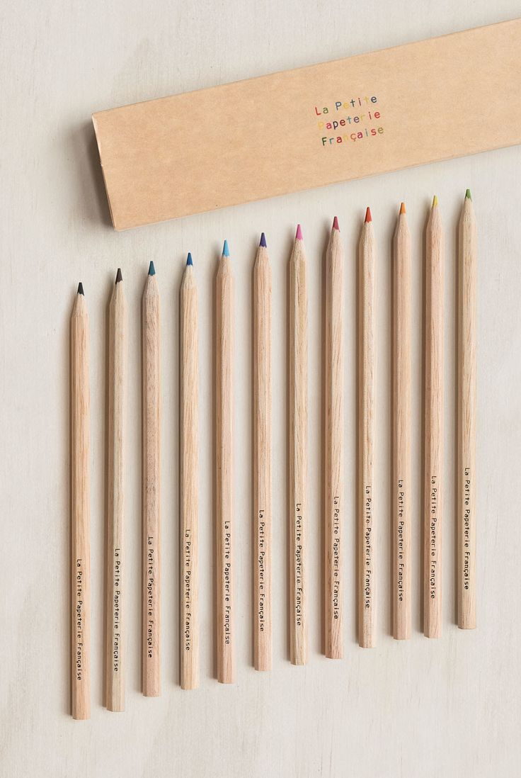 Start colouring your life with this beautiful colour pencil set!  Buy La Petite Papeterie Francaise - Colour Pencils - Set of 12 - NoteMaker Stationery. NoteMaker.com.au