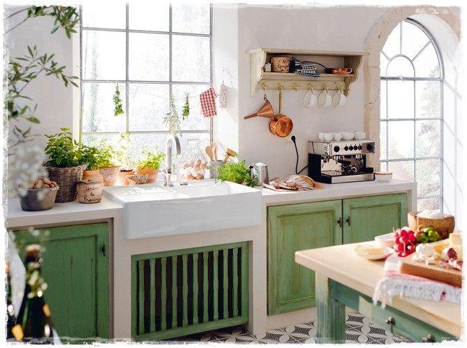 cocinas rusticas con encanto retro vintage