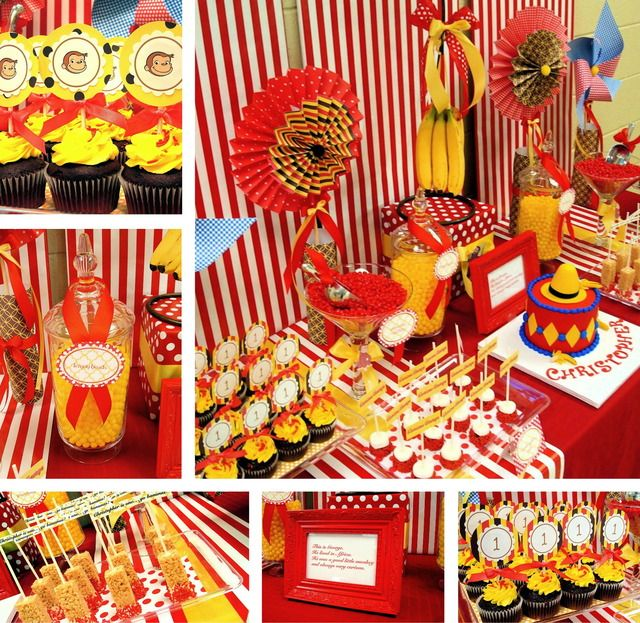 Curious George Birthday Party Ideas  sc 1 st  Pinterest & 408 best Curious George Birthday Party images on Pinterest | Curious ...