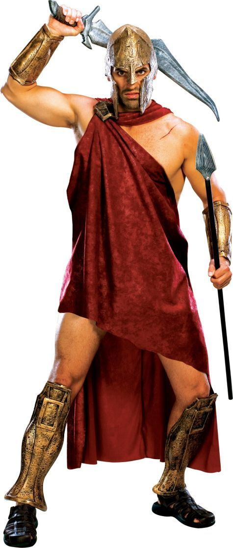 Adult Spartan Deluxe Costume ($44.99) 300 - Party City ONLINE | 2.5 stars | Greek