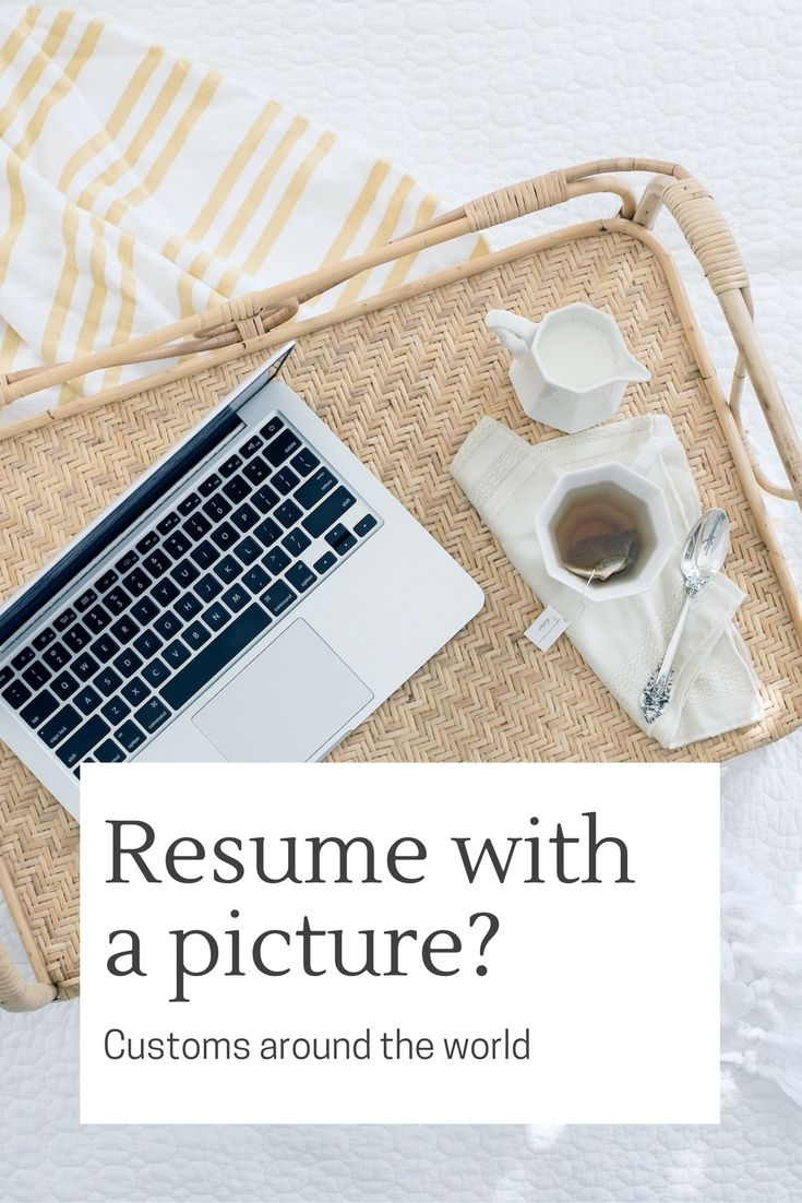 Should you be including a picture on your resume?