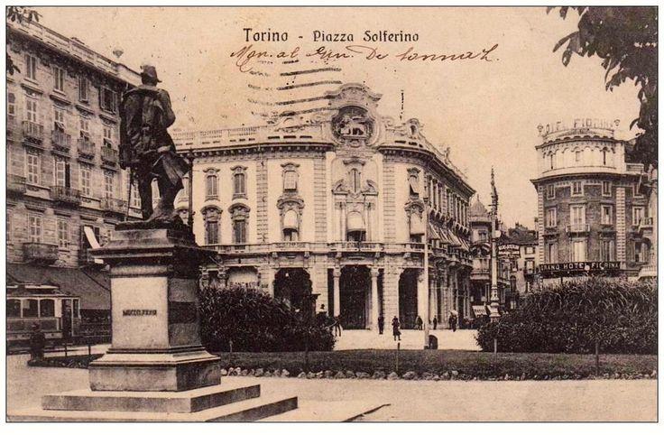 Torino , piazza Solferino , 1926.