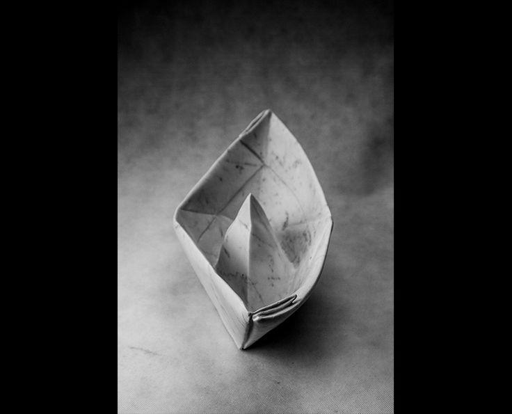 Michal Jackowski, 48 x 22 x 19 cm, Carrara white marble, 2015  #sculptures #humans #antique #pinart #creative #passion #love #art #classic #boat #white