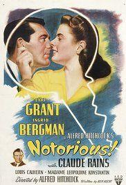 Notorious - L'amante perduta Poster